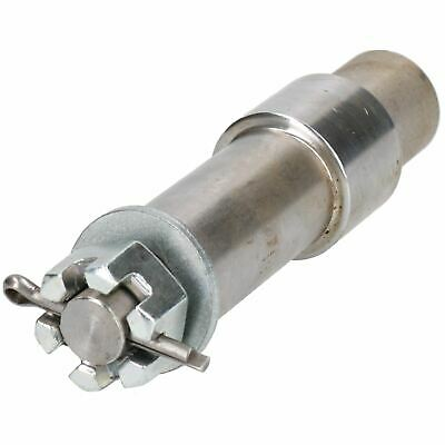 """Trailer Trolley Stub Axle for 1"""" Wheel Bearing Hubs with Castle Nut"""