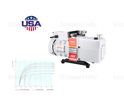 USA NVD-4 2.8 cfm Corrosion-Resist Commercial Grade 2-Stage Vacuum Pump Oven