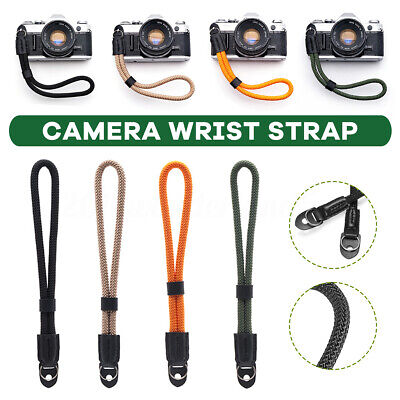 Camera Wrist Sling Hand Strap Braided Paracord Strong Weave For Leica/Sony !