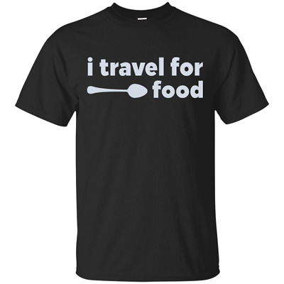 Men's I Travel For Food Mark Wiens T-Shirt size M-3XL