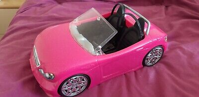 Barbie Glam Convertible Car in pink