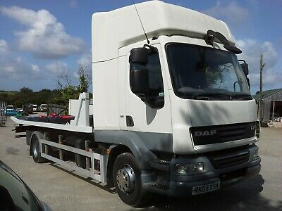 2009 Daf Lf Twin Deck Tilt And Slide Recovery Truck With Spec Car Transporter