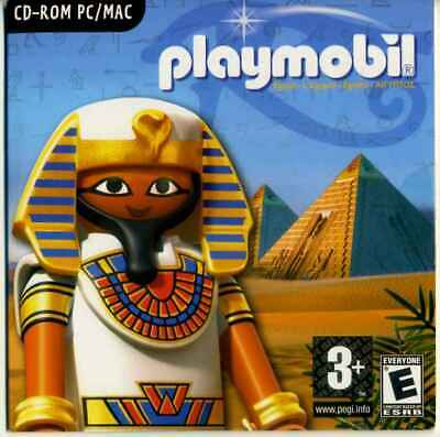 """Collection - CD-ROM PC / MAC Playmobil  """"l'Egypte Antique"""" 2009, NEUF non ouvert"""