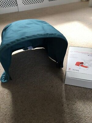 Bugaboo Cameleon 3 Canvas Fabric Hood In   Teal Never Been Used