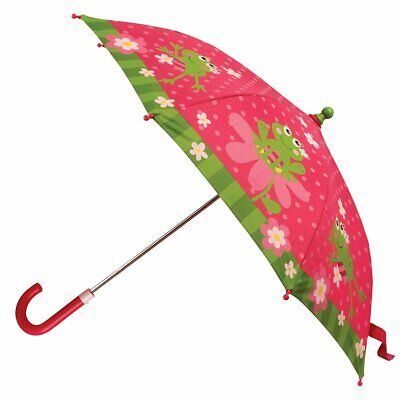 NEW Stephen Joseph Childrens Frog Girl Umbrella Kids Rainproof Sunshade