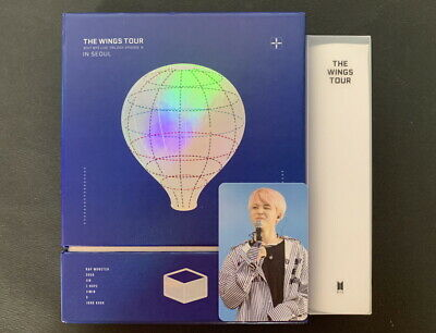 BTS-2017 BTS Live Trilogy Episode III The Wings Tour in Seoul DVD JIMIN PC