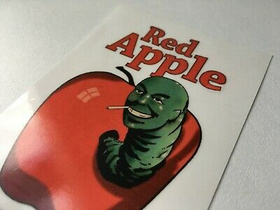 Red Apple TRANSPARENT STICKER Cigarettes Pulp Fiction Once upon time hollywood
