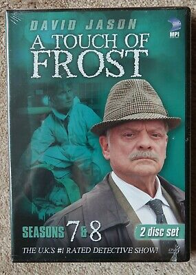 A TOUCH OF Frost 12 DVD Lot - Collections 1, 2, 3 & 4
