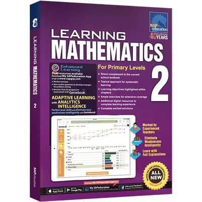 SAP Education Learning Mathematics For Primary Levels 2 - For AU Year 2 Year 3