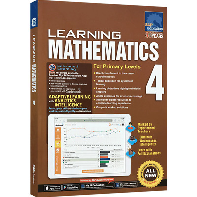 SAP Education Learning Mathematics For Primary Levels 4 - For AU Year 4 Year 5