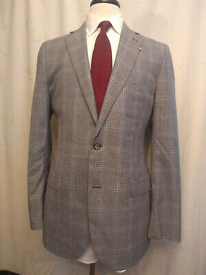 NWT Brooks Brothers Fitzgerald Gray Houndstooth Wool Sport Coat 40R MSRP $698