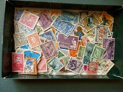 500 worldwide stamps 1900-2000 used and mint sample all different
