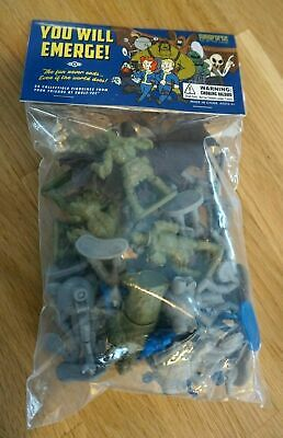 Fallout 76 Power Armor Edition Set of 24 Plastic Collectible Figurines *NEW*