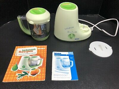 Beaba Babycook 4 In 1 Cooker-Blender With Instructions And Recipe Book