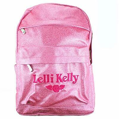 Lelli Kelly Sparkly Glitter Back Pack In Metallic Pink