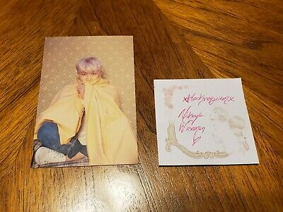 BTS Map of The Soul Persona Official RM Kim Namjoon Postcard