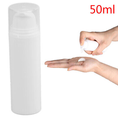 50ml Empty Cosmetic Container With Cream Pump Cosmetics Pressed Spray Bottle XM