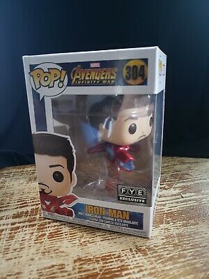 Funko Pop!! Marvel Avengers Infinity War Iron Man (Unmasked) Figurine #304