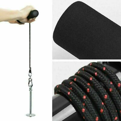 Wrist Hand Forearm Trainer Soft Grip Washer Handle Forearm Strength Exerciser