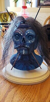Shrunken Head By Sik Rik,Creepy Collectable