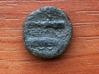 Alexander III the Great 336-323 BC AE18 Herakles & Bow, Club Ancient Greek Coin