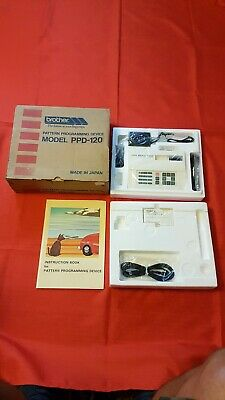 Very Rare Brother Pattern Programming Device Ppd-120.. Bnib