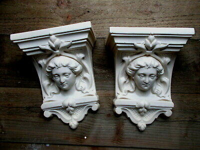 Corbels Two Silicone Moulds Resin Plaster Cement Start Up New Corbel Business