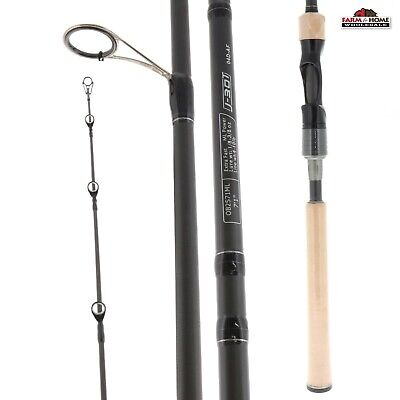 13 FISHING OMEN Black 3 Piece Casting Travel Rod & Case