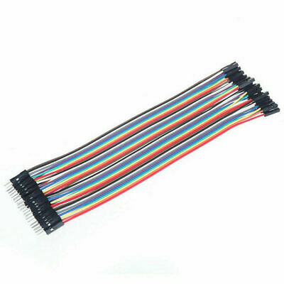Dupont Cable Jumper Wire 20cm For Breadboard Arduino 40pcs