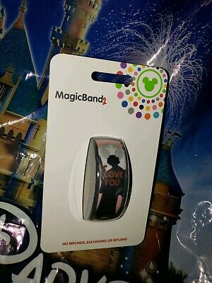 Disney MILLENNIAL PINK STAR WARS I LOVE YOU LEIA Magic Band Magicband Parks