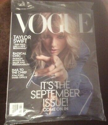 VOGUE Magazine - TAYLOR SWIFT cover - September 2019 issue