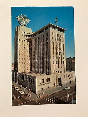 Home Office Building Valley National Bank Phoenix Arizona AZ Postcard