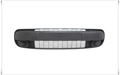 *FORD TRANSIT 06-13 FRONT BUMPER CENTER MIDDLE GRILLE 1437153 LIGHT GREY TRA106