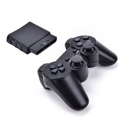 2.4G Wireless Game Controller Game Pad Joystick for PS2 Console Video  Fad