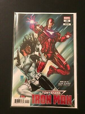 Marvel Comics Tony Stark Iron Man Self-Made Part 1 #1 NM