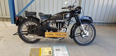 1950 AJS Single 500cc Motorcycle by Firma Trading Classic Motorbikes Australia