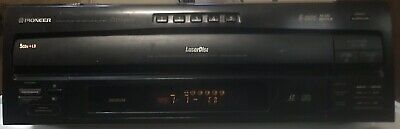 PIONEER CLD-M301, Vintage Laser Disc + 5 CD Changer, Great Working Cond.