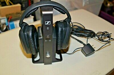SENNHEISER HDR 175 Wireless Heaphones w/ TR 175 Charging Base TESTED