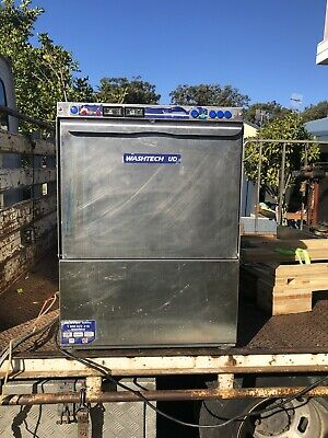 Washtech Undercounter Dishwasher In Good Condition High Performance