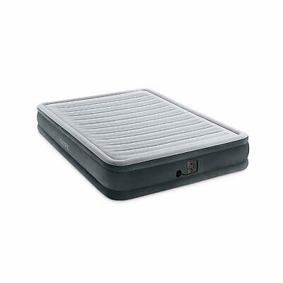 Intex Queen Comfort Plush Mid Rise Dura-Beam Airbed with Internal Electric Pump