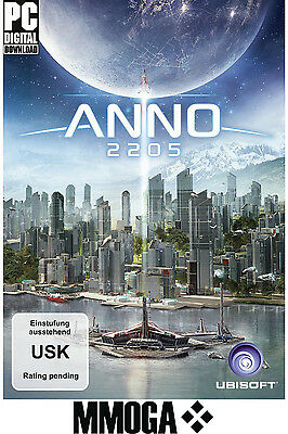 Anno 2205 - PC Game Code - UPLAY Ubisoft Download Key Standard Version [DE][EU]