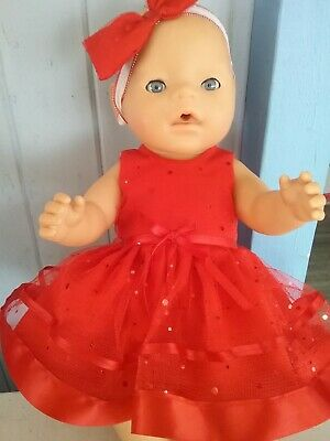 """Handmade Clothes For 17""""Zaph Baby Born And Interactive Sister Doll"""