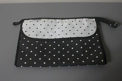 """""""Cardinali"""" Ladies Stylish Spotted Travel Make Up Case, Great Condition, Bargain"""