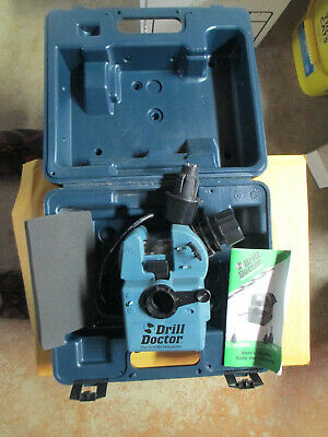 Drill Doctor Drill Bit Sharpeners Model 750 In Case With Instruction Booklet