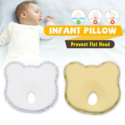 Memory Foam Baby Cot Soft Pillow Prevent Flat Head Cushion Sleeping Support