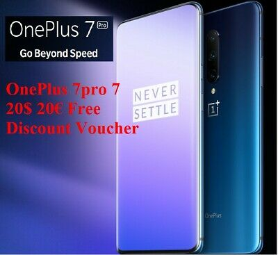 OnePlus 7pro 7 6T 20£ 20€ Discount Voucher Gear Accessories Smartphone Android