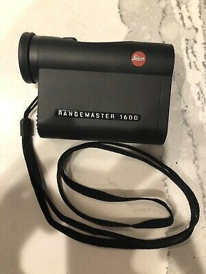 LEICA RANGEMASTER CRF1600 range finder binocular monocular hunting optics BLACK