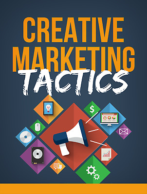 Creative Marketing Tactics Ebook with Full Master Resell Rights | MRR | PDF