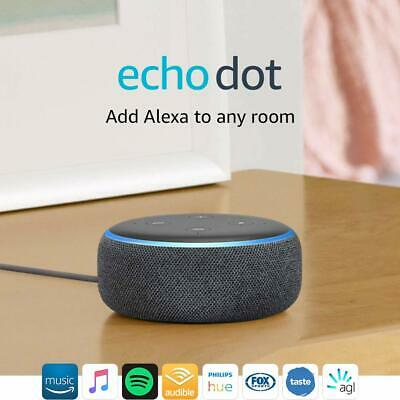 Brand New Amazon Echo Dot 3rd Generation Smart Assistant Speaker Alexa
