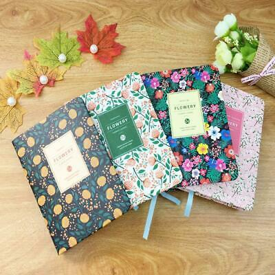 Vintage Flower Pocket Notebook Note Pads Schedule Book Diaries Journals Sale
